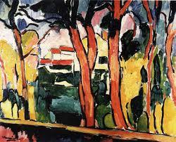 bäume leuchtend interpretation